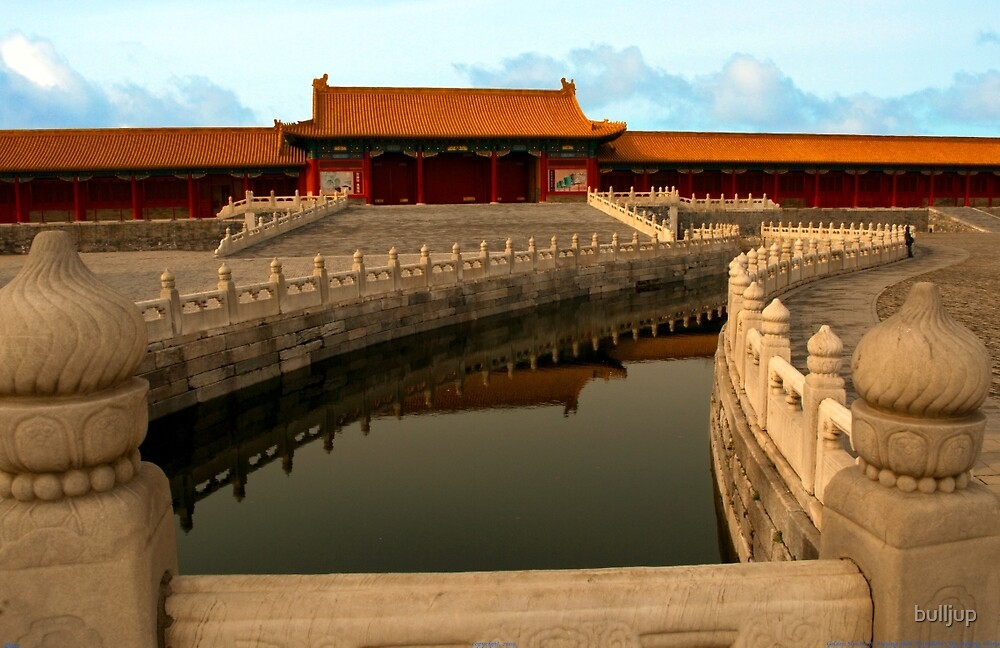 Golden Stream & Wuying Hall, Forbidden City by bulljup