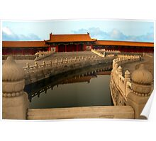 Golden Stream & Wuying Hall, Forbidden City Poster
