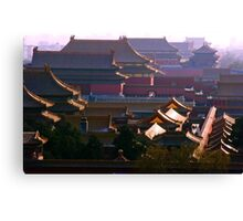 Roofs. Canvas Print