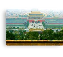 Forbbiden City, Beijing, China. Canvas Print
