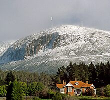 Mt Wellington snow beauty by Anthony Davey