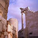 Sunset at the Acropolis by Amy Dokken
