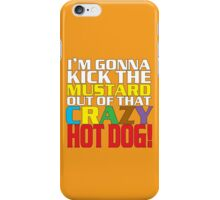 Crazy Hot Dog iPhone Case/Skin