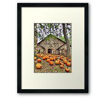 Brush Creek Barn Framed Print