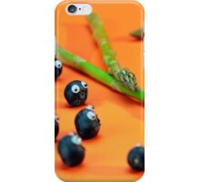 Blueberry Protesting iPhone Case/Skin
