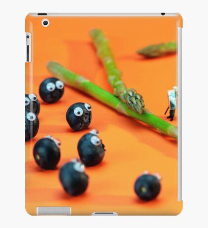 Blueberry Protesting iPad Case/Skin