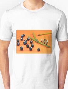 Blueberry Protesting Unisex T-Shirt