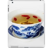 Making Longjing Tea traditional chinese culture  iPad Case/Skin