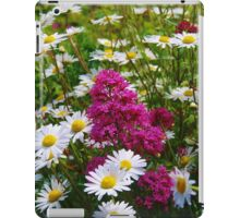 Valerian and Oxeye Daisies iPad Case/Skin