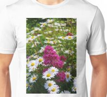Valerian and Oxeye Daisies Unisex T-Shirt