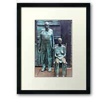 We Lost Everything, Including Our Dignity Framed Print