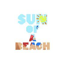 Sun Of A Beach by NatalieMirosch