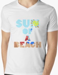 Sun Of A Beach Mens V-Neck T-Shirt