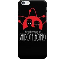 The Adventures of Sheldon & Leonard iPhone Case/Skin