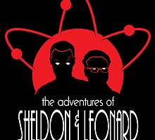 The Adventures of Sheldon & Leonard by ninjacookie