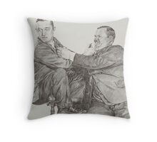 'Divided we fall' Throw Pillow