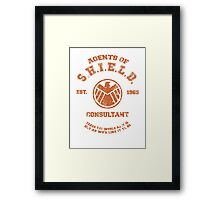 Agents of S.H.I.E.L.D. Consultant Framed Print