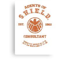 Agents of S.H.I.E.L.D. Consultant Canvas Print
