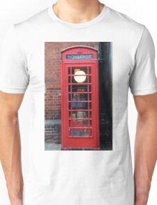 Unusual phone box Unisex T-Shirt