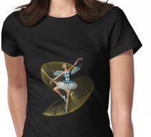 Fairy Ballerina Womens Fitted T-Shirt
