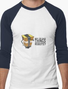 ClapTrap Troubles Men's Baseball ¾ T-Shirt