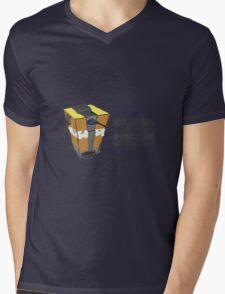 ClapTrap Troubles Mens V-Neck T-Shirt