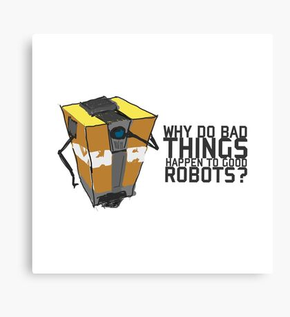 ClapTrap Troubles Canvas Print