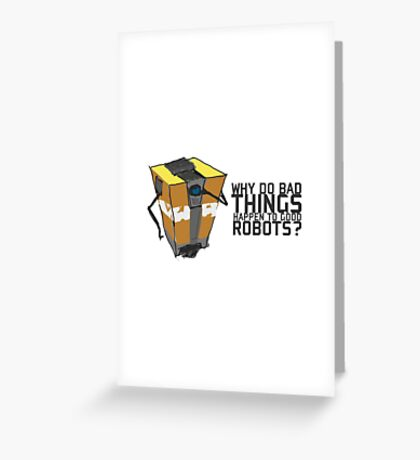ClapTrap Troubles Greeting Card