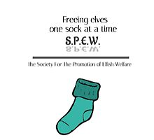 S.P.E.W.: Freeing Elves One Sock At A Time by SEA123