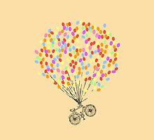 Bike & Balloons by NatalieMirosch