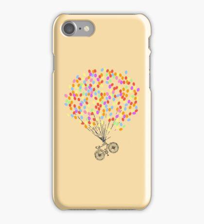 Bike & Balloons iPhone Case/Skin