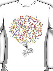 Bike & Balloons T-Shirt