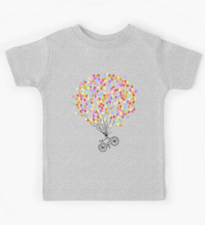 Bike & Balloons Kids Tee