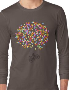 Bike & Balloons Long Sleeve T-Shirt