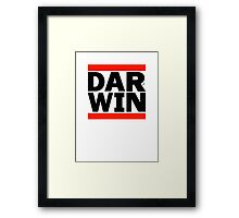 DAR-WINNING by Tai's Tees Framed Print