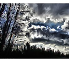 cloud brew Photographic Print