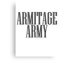 Richard Armitage Army Canvas Print