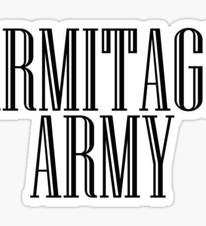 Richard Armitage Army Sticker