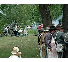 American Civil War reenactment Photographic Print