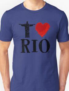 I Heart Rio de Janeiro (blk) by Tai's Tees Unisex T-Shirt
