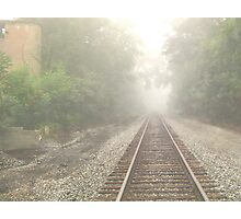 Morning Walk In The Fog Photographic Print