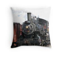 Days of Steam Throw Pillow