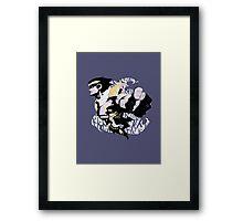Jotaro and Star Platinum Framed Print