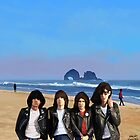Rockaway Beach - Ramones by Brad Collins