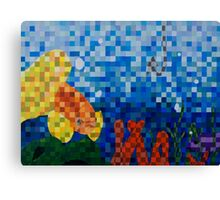 Of All the Fish in the Sea Canvas Print