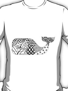 Zentangle Whale T-Shirt