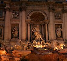 Trevi Fountain by Judd3rman