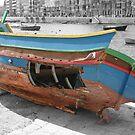 The shipwreck by Christian  Zammit