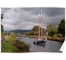 Sailing on the Crinan Poster