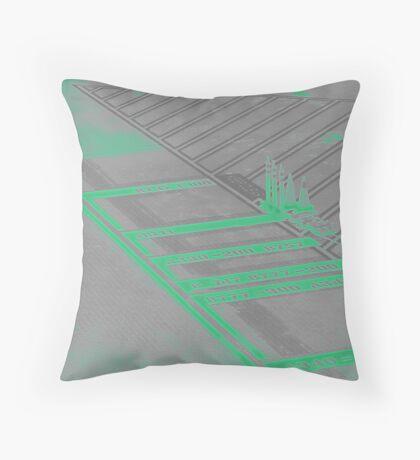 tarmac Throw Pillow